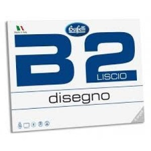 ALBUM DA DISEGNO B2 - F.TO...
